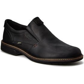 ECCO Sko Casual Loafers turn BLACKBLACK ,ecco tilbud