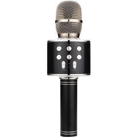 QTX - Bluetooth karaoke mikrofon - Sort