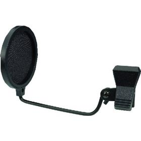 WS-100 Popfilter til mikrofon - sort pop filter