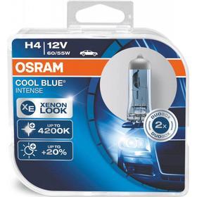 Osram H4 Cool Blue Intense pærer sæt (2 stk.) pakke