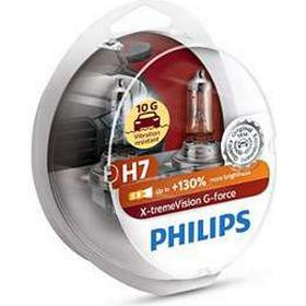 Philips H7 X-treme Vision G-Force +130% (2 stk)