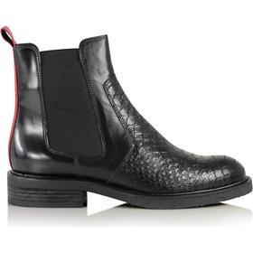 Baby Bufalo | Sort | Ankel støvle fra Billi Bi – Lisen.dk
