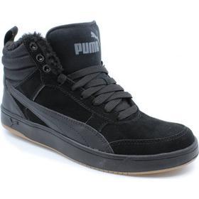 Puma 1948 Vulc Blå Hvide Mænd Billige Puma Sneakers