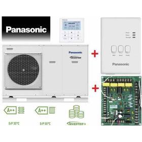 Panasonic Aquarea Wärmepumpe 7 kW, WH-MDC07H3E5 mit CZ-TAW1 Internet-Steuerung und CZ-NS4P Platine Smart Grid
