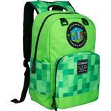 Rygsæk Minecraft Miner's Society - Green