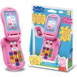 Interaktiv børnetelefon Peppa Pig Gurli Gris Flip & Lær Telefon