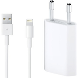 Iphone 12 oplader Batterier & Opladere Apple iPhone Charger with Cable 1A