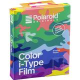 Itype film Analoge kameraer Polaroid Color i-Type Film Camo Edition 8 Pack