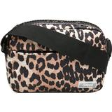 Tasker Ganni Tech Fabric Bag - Leopard