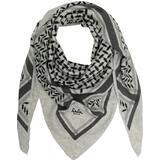 Lala Berlin Tørklæde Triangle Trinity Classic Scarf M - Flanella Light Gray