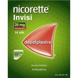 Nikotinplaster Håndkøbsmedicin Nicorette Invisi 25mg 14stk
