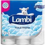 Papirprodukter Lambi Toilet Paper 63-pack
