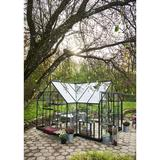 Halls Garden Room 12.9m² Aluminium Hærdet glas