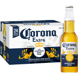 Corona Extra Mexican Lager Beer 4.6% 24x33cl