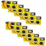Novocolor Disposable Cameras with Flash 10 Pcs