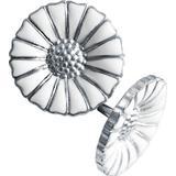 Georg Jensen Daisy Earrings - Silver/White