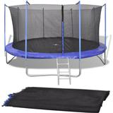 Tilbehør til trampoliner vidaXL Safety Net 396cm