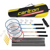 Badmintonsæt & Net Carlton Tournament 4 Player Set