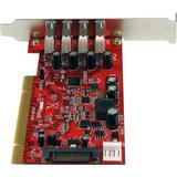 USB Type-A kort StarTech.com PCIUSB3S4