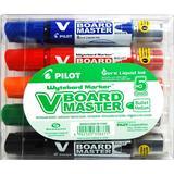 Hobbymaterialer Pilot V Board Master Whiteboard Markers Fine Bullet Tip 5-pack