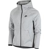 Nike Tech Fleece Full Zip Hoodie Men - Dark Grey Heather/Black