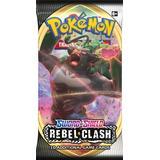Pokemon kort Brætspil Pokémon Sword & Shield Rebel Clash Booster Pack