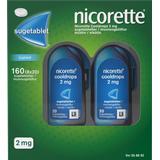 Nikotintablet Nicorette Cooldrops Icymint 2mg 160stk