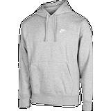 Nike Club Fleece Hoodie Unisex - Grå