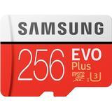 Hukommelseskort & USB-stick Samsung Evo Plus 2020 microSDXC MC256HA Class 10 UHS-I U3 256GB