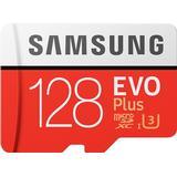 Hukommelseskort & USB-stick Samsung Evo Plus 2020 microSDXC MC128HA Class 10 UHS-I U3 128GB