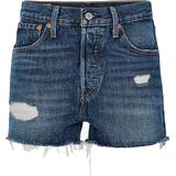 Shorts Dametøj Levi's 501 Original Shorts - Silver Lake/Blue