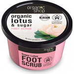 Organic Shop Organic Lotus & Sugar Foot Scrub 250ml
