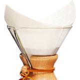 Kaffefiltre Chemex FS-100 Pre Folded Square Filter 100pcs
