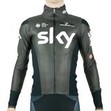 Regnjakke Castelli Idro Pro Rain Jacket Men - Team Sky