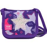 Tasker Top Model Sequins Stars Shoulder Bag - Purple