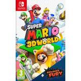 Nintendo Switch spil Super Mario 3D World + Bowser's Fury