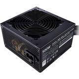 Strømforsyning 500w Strømforsyninger Cooler Master MWE 500 White 230V - V2 500W