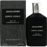 Eau de Toilette Jack & Jones Premium Black Simply Iconic EdT 75ml