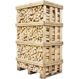 Brænde Brænde Lufttørret Ask 650kg Palle