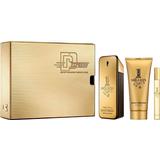 Gaveæsker Paco Rabanne 1 Million Special Travel Edition Gift Set EdT 100ml + EdT 10ml + Shower Gel 100ml