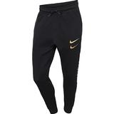 Træningsbukser Nike Swoosh Trousers Men - Black/Metallic Gold