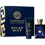 Gaveæsker Versace Dylan Blue Gift Set EdT 100ml + Shower Gel 100ml