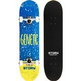 """Blå Komplette skateboards Story Genetic 7.5"""""""