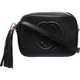 Tasker Gucci Soho Small Leather Disco Bag - Black