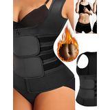 Vest Vest Body Shaper Women - Black