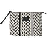 Tasker Lala Berlin Cosmetic Bag Pili - Kufiya Off-White/Black