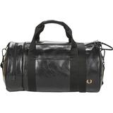 Tasker Fred Perry Tonal Barrel Bag - Black