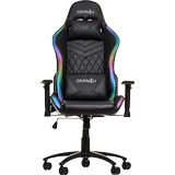 Gaming stol Gear4U Illuminated RGB Gaming Chair - Black