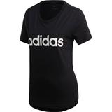 Adidas Essentials Linear T-shirt Women - Black/White