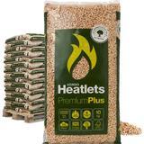 Heatlets 6 mm Træpiller, Træbriketter & Brænde Heatlets Wood Pellets 6mm 900kg